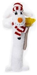 Multipet Loofa Snowman Dog Toy