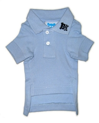 Lt. Blue Button's Up Polo*