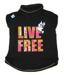 Live Free Sleeveless Crew