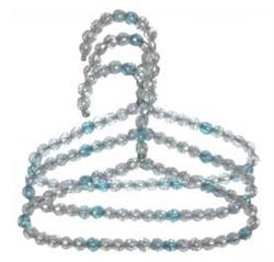 Turquoise Beaded Hangers