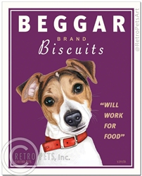 Beggar Biscuits (Jack Russell) Will Work For Food