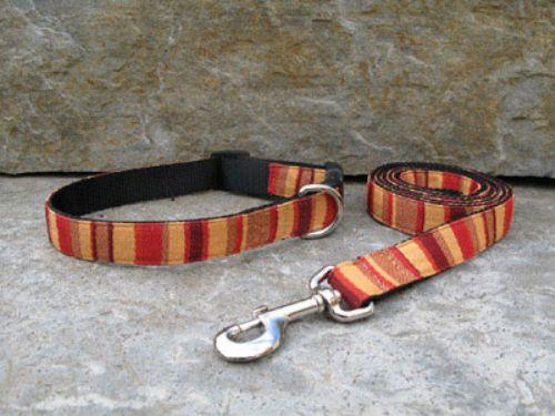 Dark Orange Bella Dura Collars and Leashes