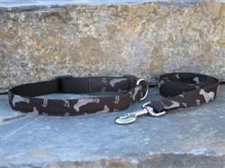 Wegman Rotator Collars and Leashes