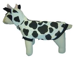 Cow Dog Costume