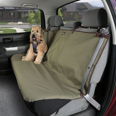 """Waterproof Bench Pet Seat Cover - Green or Grey 56 or 60"""" Width"""
