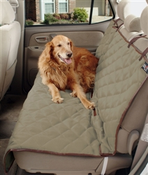 Deluxe Quilted Bench Pet Seat Cover