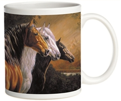 Our Best Selling Horse Images on Mugs