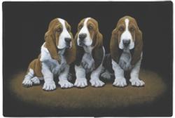 Basset Pups Doormat
