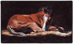 Good as Gold (Foal) Doormat