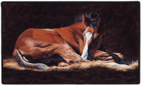 Good as Gold (Foal) Doormat