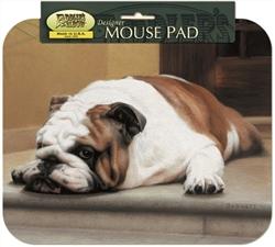 Bulldog / Porch Mouse Pad