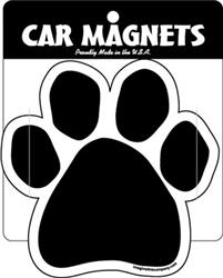 Black Paw Magnets