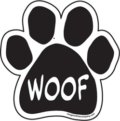 Woof Paw Magnets