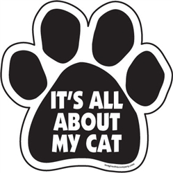 It's all about my cat Paw Magnets