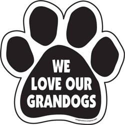 We love our grandogs Paw Magnets