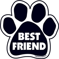 Best Friend Paw Magnets