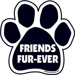 Friends Fur-Ever Paw Magnets