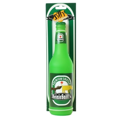 Silly Squeakers® Beer Bottle - Heinie Sniff'n