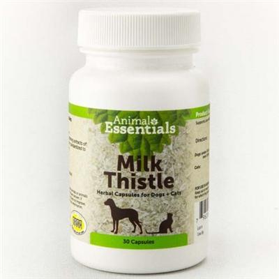 Milk Thistle Capsules (30 count bottle)