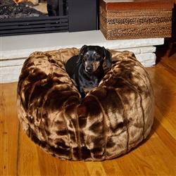 Caramel Cocoa Tiger Dreamz Beddy-Ball Bed