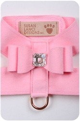 Puppy Pink Big Bow Harnesses