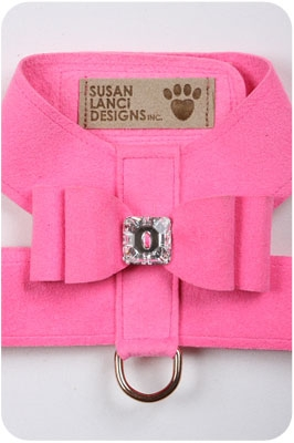 Perfect Pink Big Bow Harnesses