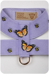 French Lavender Butterfly & Bees Harnesses