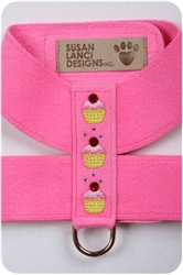 Perfect Pink Cup Cake Harnesses
