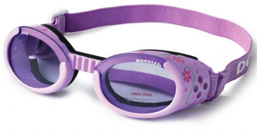 Lilac Doggles ILS with Flowers