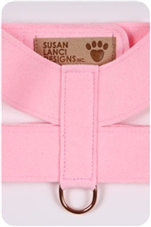 Puppy Pink Plain Harnesses