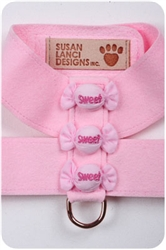 Puppy Pink Puffy Sweets Harnesses