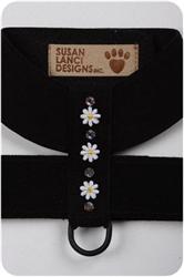 Black Daisy (Small) Harnesses
