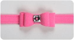 Perfect Pink Big Bow Collars