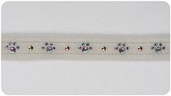 Doe Crystal Paw Print Collars