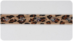 Cheetah Crystal Paw Print Collars