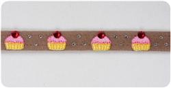 Fawn Cup Cake Collars