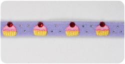French Lavender Cup Cake Collars