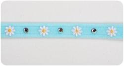 Tiffi Blue Daisy (Small) Collars