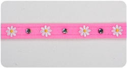 Perfect Pink Daisy (Small) Collars