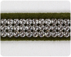 Olive 3 Row Giltmore Collar