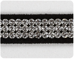Black 3 Row Giltmore Collar