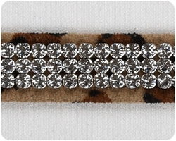 Cheetah Giltmore Crystal II Collars
