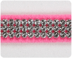 Perfect Pink 3 Row Giltmore Collar