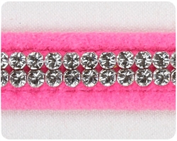 Perfect Pink Giltmore Crystal Collars