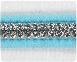 Tiffi Blue Giltmore Crystal Collars