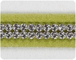 Lime 2 Row Giltmore Collar
