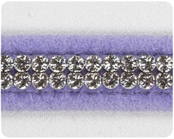 French Lavender Giltmore Crystal Collars