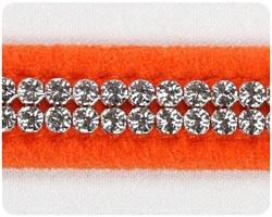 Orange 2 Row Giltmore Collar