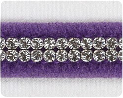 Ultraviolet 2 Row Giltmore Collar