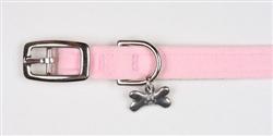 Puppy Pink Plain Collars